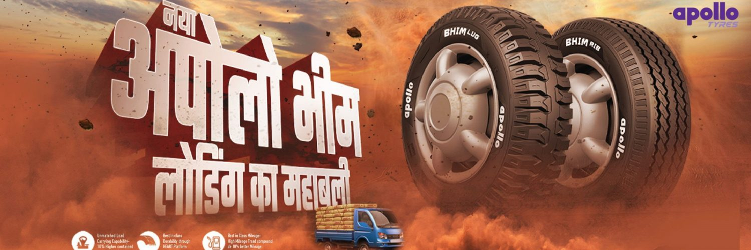 Bhim Range Launched By Apollo Tyres For SCV's