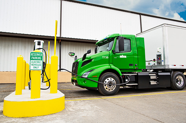 To Its Spectrum of Electromobility Projects, Volvo Trucks Adds Electric Fleet Charging Start-ups